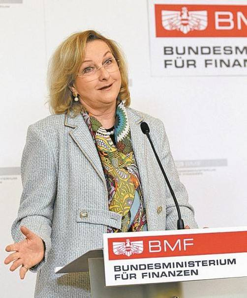Wirbt für Spekulationsverbot: Finanzministerin Fekter. Foto: APA
