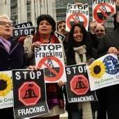Deutsche fördern Fracking