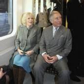 Seltener Anblick in der Londoner U-Bahn