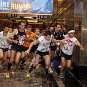 Treppenlauf auf das Empire State Building