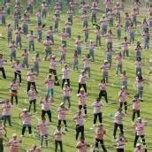 Mit Hula-Hoop zum Weltrekord