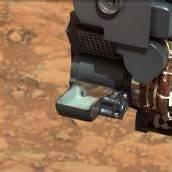 Curiosity nahm erstmals Gesteinsprobe