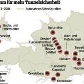 1,5 Milliarden Euro für mehr Tunnelsicherheit