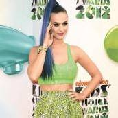 Katy Perry im Neon-Look