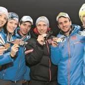 Nach Gold freut sich Mathis auf den Riesentorlauf-Start