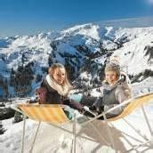 Spaß im Schnee auf der Höh