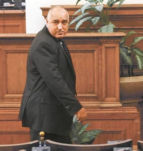 Überraschender Rücktritt des Premiers Borissow. Foto: Reuters
