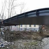 Die Weppachbrücke steht wieder