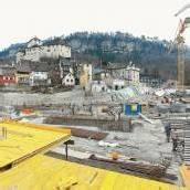 Grundsteinlegung für das neue Montforthaus in einem Monat