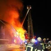 Sägewerk-Brand gibt Ermittlern Rätsel auf