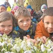 Freude mit den Frühlingsboten