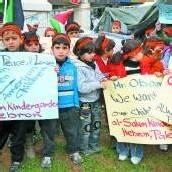 Palästinensische Kinder bitten Obama um Hilfe
