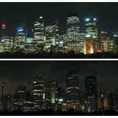 Weltweit gingen für eine Stunde die Lichter aus