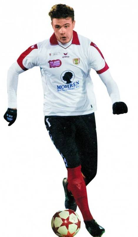Deniz Mujic ist zurück. Der Stürmer soll im Frühjahr die Tore beim FC Dornbirn erzielen. Foto: vn/steurer