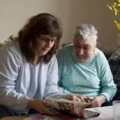 Behinderte im Pflegeheim