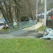 Verbauung eingebrochen: Pipeline wird saniert
