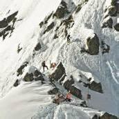 Feurle und Graf Meister im Skibergsteigen
