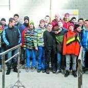 Thüringer Poly-Schüler bauen einen Brunnen