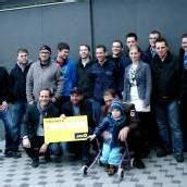 Charity-Spiel brachte 12.525 Euro für Maxi