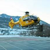 Rettungshubschrauber-Pilot wurde von Laser geblendet