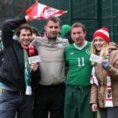 Irische Fußball-Fans sammelten für bestohlene Vorarlberger