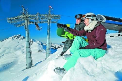Gute Schneebedingungen haben die Kassen der Liftbetreiber klingeln lassen. Foto: Ludwig berchtold