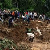 Erdrutsch: Tote und Vermisste