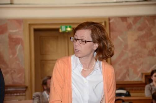 Kämpferisch: Richterin Kornelia Ratz. Foto: VN/Stadler