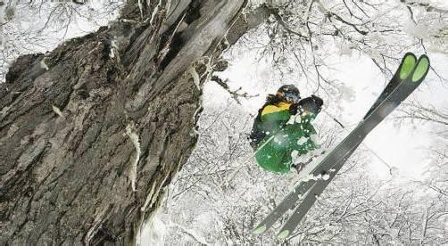 Kästle investiert nicht in den Skirennsport, sondern in den Trendsport Freeriding. Foto: Kästle