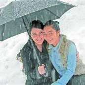 Von Regenstiefeln, Schirm und Nestle