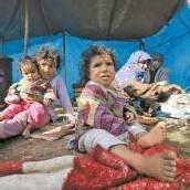Mehr als eine Million Syrer sind bisher geflohen