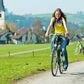 Teurer Spaß: Handy auf dem Rad