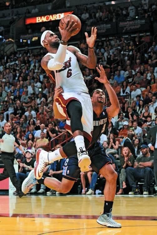 Miami-Star LeBron James steuerte 32 Punkte zum Sieg bei. Foto: apA