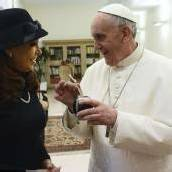 Der Papst traf Kirchner