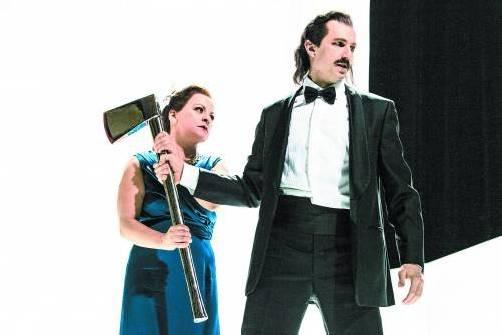 "Szene aus ""Klytaimnestra"" am Schauspielhaus Graz. Foto: Spuma"