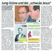 Wo bleibt der Aufschrei der ÖVP und der Kirche?