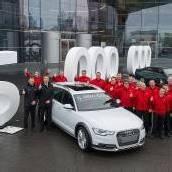 Quattro-Jubiläum bei Audi