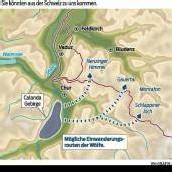 Rechne damit, dass Wölfe in Vorarlberg eindringen