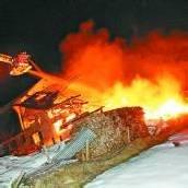 Haus in Bildstein komplett abgebrannt