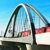 Wieder freie Fahrt über den Rhein – Inbetriebnahme der Zugstrecke /A8