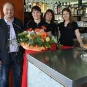 Hörbranz: Blumen und Sekt bei Eröffnungsfest