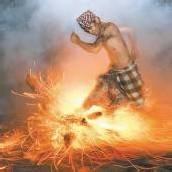Reinigende Flammen auf Bali