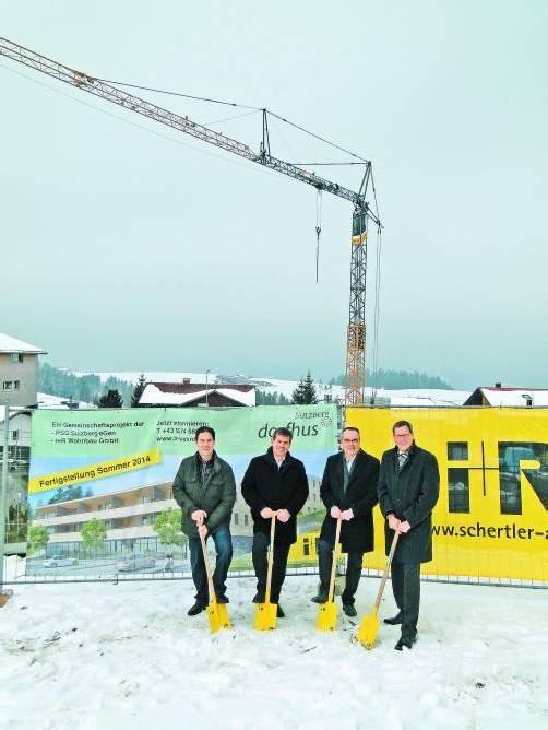 """""""Dorfhus"""": Auf 3000 Quadratmetern entsteht das Projekt mit gemischter Nutzung. Gemeinde"""
