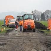 Lücke in grenzenloser Radwegroute schließen