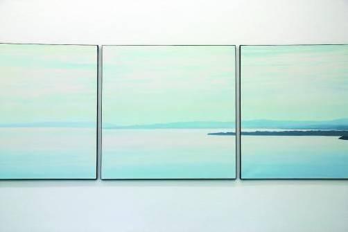 """Ausschnitt aus dem Bodensee-Triptychon"""" von Helmut Rauch. FotoS: AG"""