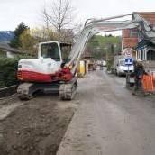 Kanalarbeiten am Unteren Kirchweg