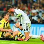 BVB im Finale Jubel trotz einer 0:2-Niederlage /C3