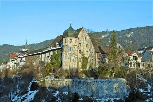 Das Deuringschlössle am Rand der Bregenzer Oberstadt: Geplante Zubauten erregen die Gemüter. Foto: vn/paulitsch