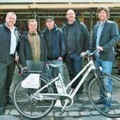 Eröffnungsparty für Fahrradverleih