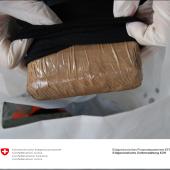 Mit Kokain im Reisegepäck erwischt